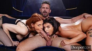 deeper maitland ward passionate threesome with ivy lebelle